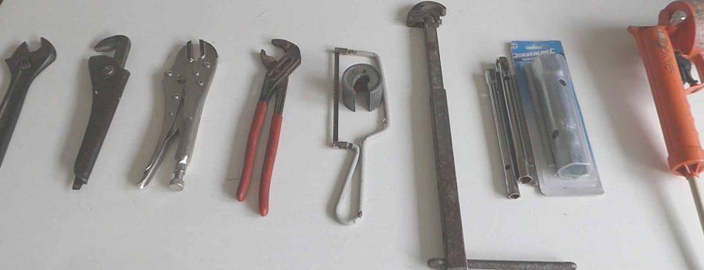 herramientas de fontaneria
