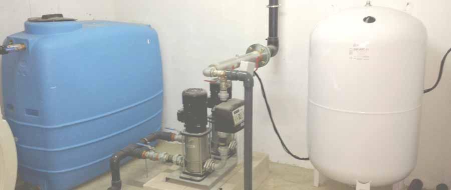 mantenimiento de grupos de presión del agua