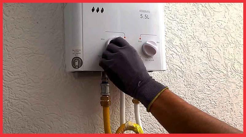 problemas con el calentador de gas